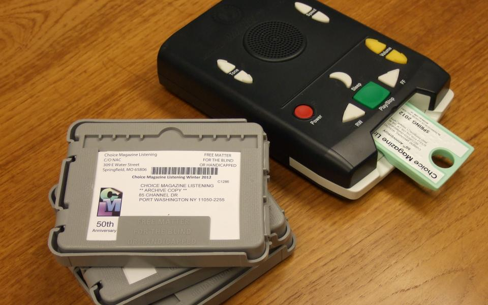 Picture of Digital Player and Cartridges